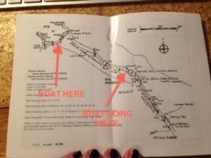 Tide map